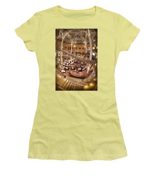Fernbank Museum Women's T-Shirt (Junior Cut) by Anna Rumiantseva