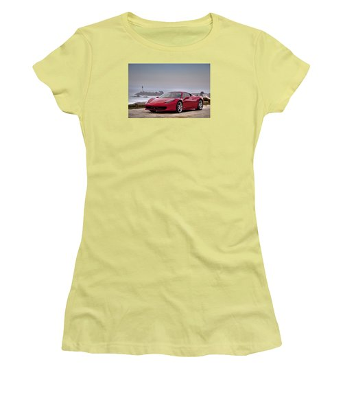 Ferrari 458 Italia Women's T-Shirt (Athletic Fit)