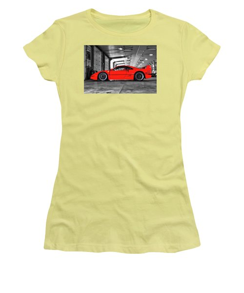 Ferrari F40 Women's T-Shirt (Athletic Fit)