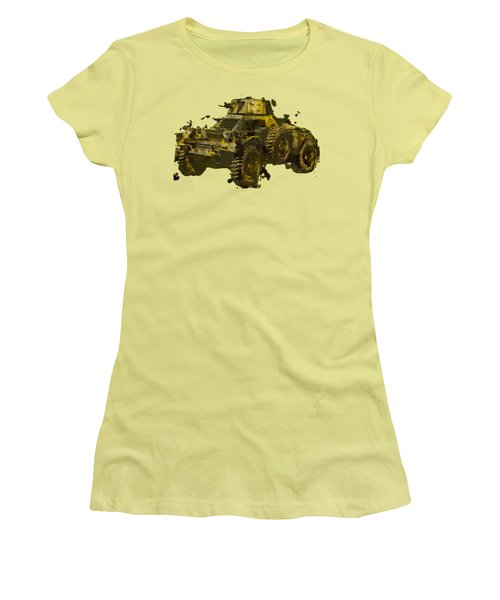 Ferret Scout Car Women's T-Shirt (Athletic Fit)