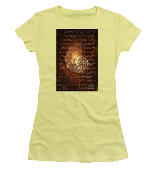 Fibonacci Women's T-Shirt (Athletic Fit)