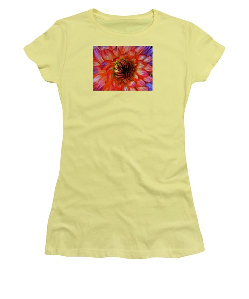 Women's T-Shirt (Junior Cut) featuring the photograph Fickle by Elfriede Fulda