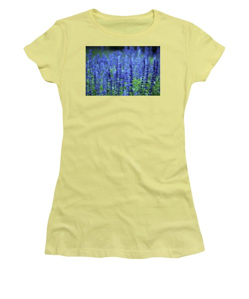Fields Of Blue Women's T-Shirt (Athletic Fit)