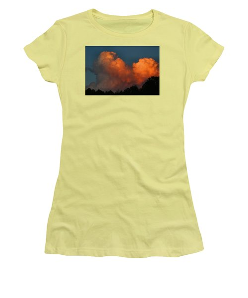Fiery Cumulus Women's T-Shirt (Athletic Fit)