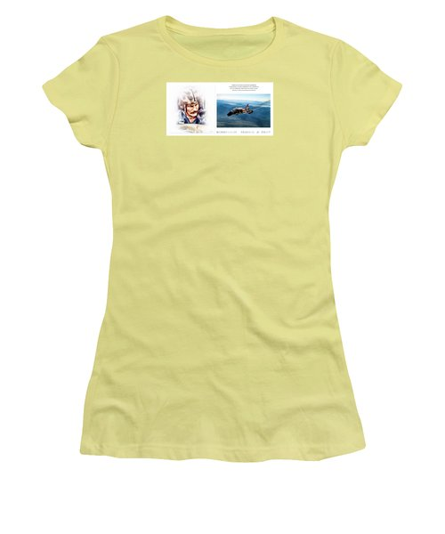 Robin Olds Fighter Pilot Women's T-Shirt (Athletic Fit)