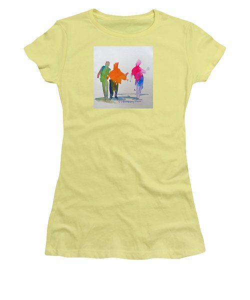 Figures In Motion  Women's T-Shirt (Junior Cut) by P Anthony Visco