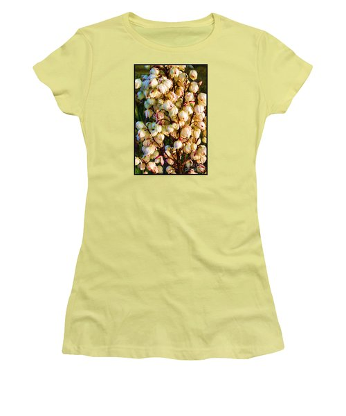 Filled With Joy Floral Bunch Women's T-Shirt (Athletic Fit)