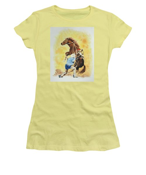 Final Appeal Women's T-Shirt (Junior Cut) by Jimmy Smith