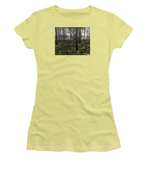 Find The Right Path Women's T-Shirt (Junior Cut) by Lisa Aerts