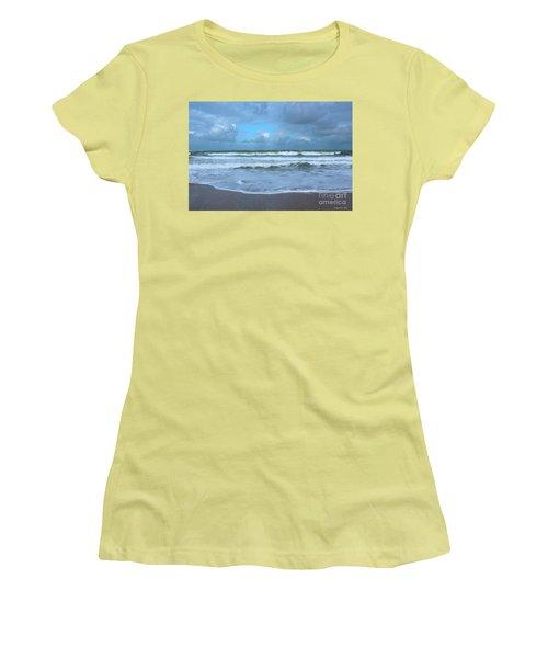 Find Your Beach Women's T-Shirt (Junior Cut) by Megan Dirsa-DuBois