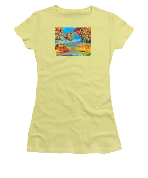Finding Father Women's T-Shirt (Athletic Fit)