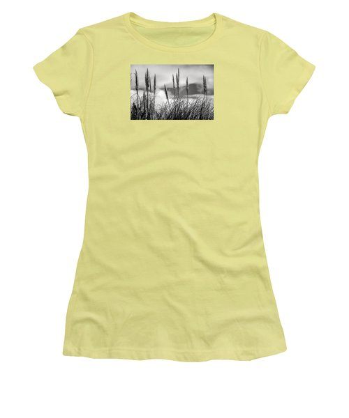 Fine Art Black And White-188 Women's T-Shirt (Athletic Fit)