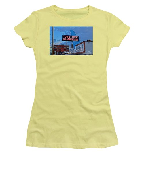 Fine Dinning Women's T-Shirt (Athletic Fit)