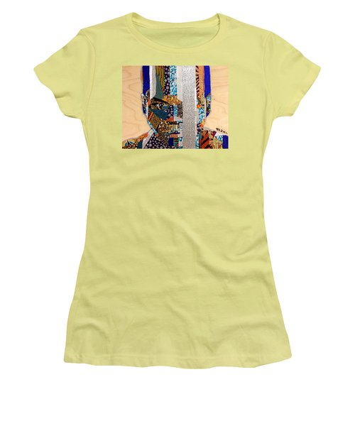 Finn Star Wars Awakens Afrofuturist  Women's T-Shirt (Junior Cut) by Apanaki Temitayo M