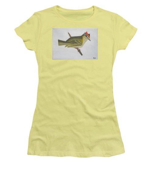Firecrest Women's T-Shirt (Junior Cut) by Tamara Savchenko