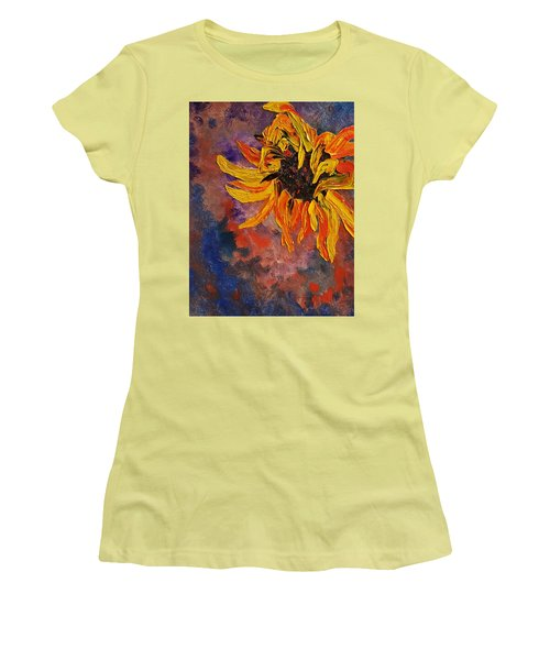 Firespace Flower  27 Women's T-Shirt (Athletic Fit)