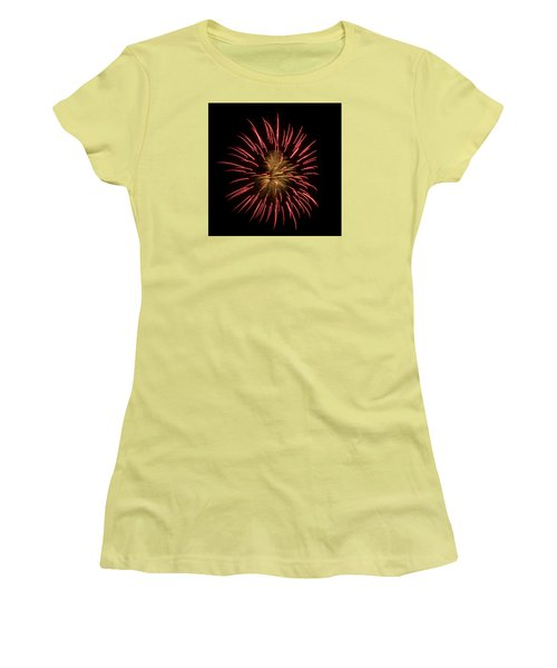 Fireworks 2 Women's T-Shirt (Athletic Fit)