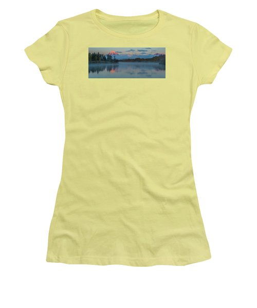 First Light Of Dawn Women's T-Shirt (Junior Cut) by Yeates Photography