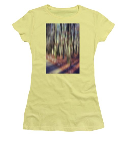 First Light Of Spring Women's T-Shirt (Athletic Fit)