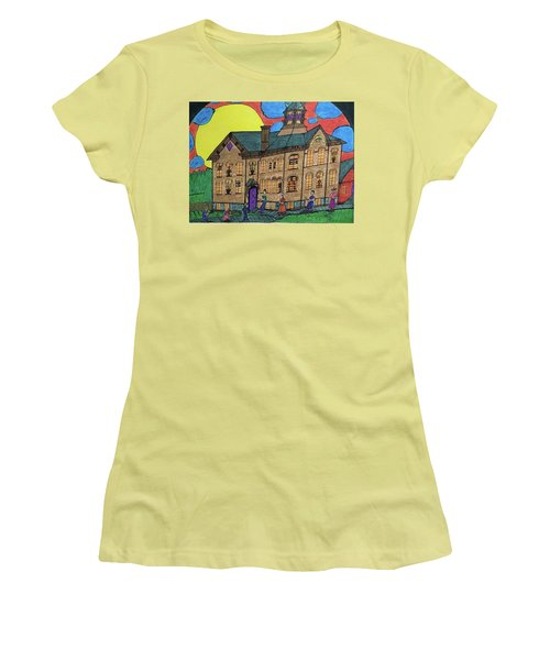 First Menominee High School. Women's T-Shirt (Athletic Fit)