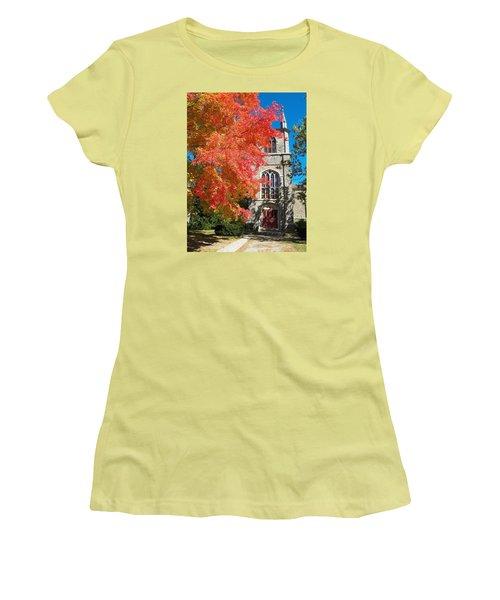 First Parish Unitarian Church Women's T-Shirt (Athletic Fit)