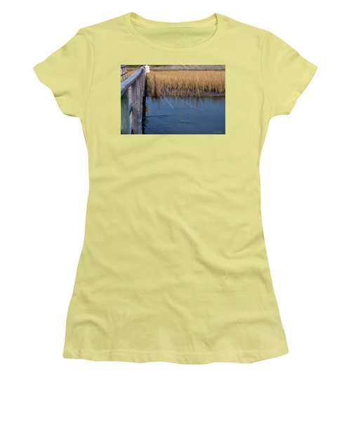 Fishin' Lines Women's T-Shirt (Athletic Fit)