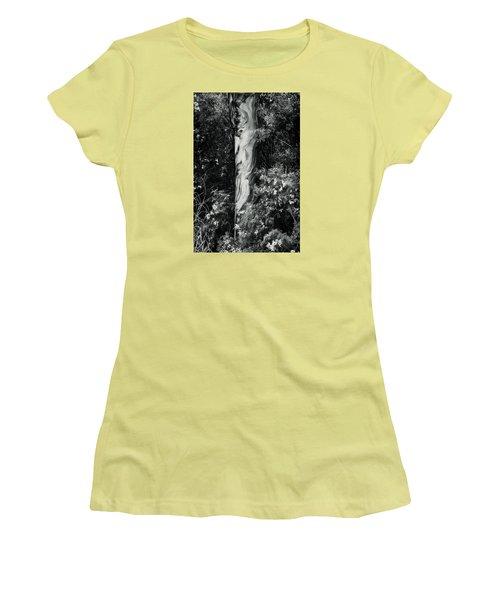 Fla-150523-nd800e-24853-bw-green Women's T-Shirt (Junior Cut) by Fernando Lopez Arbarello