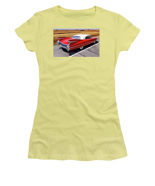 Flamboyant Fifty-nine Women's T-Shirt (Junior Cut) by Christopher McKenzie