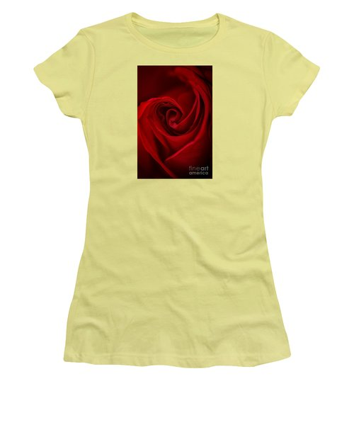 Flame Women's T-Shirt (Junior Cut) by Amy Porter