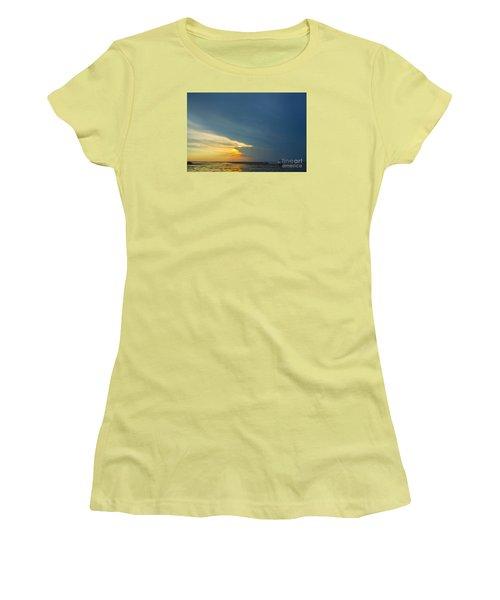 Flats Of Brewster, Cape Cod Women's T-Shirt (Junior Cut) by Diane Diederich
