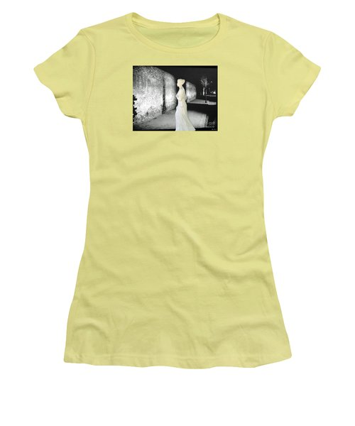 Fleeting Moment Women's T-Shirt (Junior Cut) by Lyric Lucas