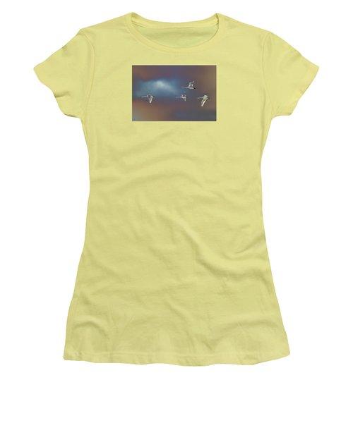 Flight Women's T-Shirt (Junior Cut) by Richard Patmore