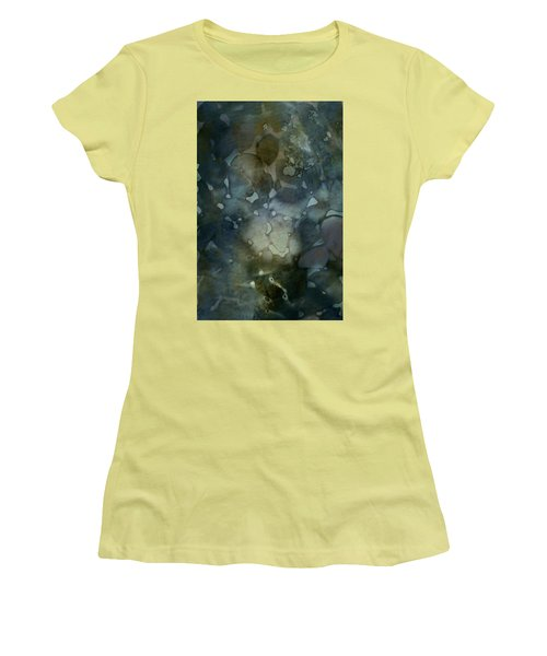 Floating Colors Women's T-Shirt (Athletic Fit)