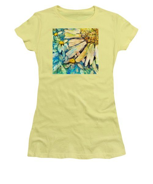 Floating Flowers Women's T-Shirt (Athletic Fit)