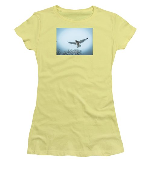 Women's T-Shirt (Junior Cut) featuring the photograph Floating On Hope  by Glenn Feron