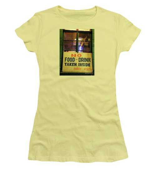 Women's T-Shirt (Junior Cut) featuring the photograph Floores Country Store And Dance Hall by Joe Jake Pratt