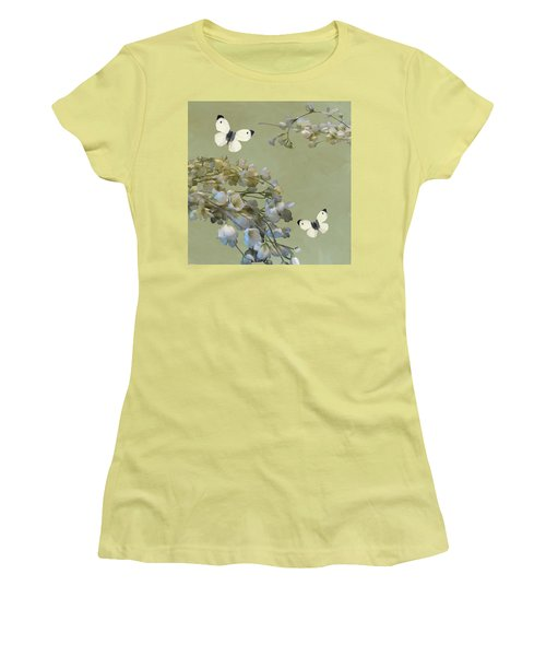 Floral07 Women's T-Shirt (Athletic Fit)