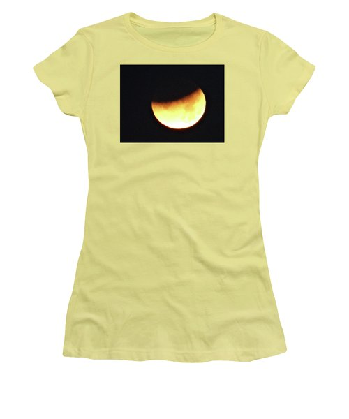 Florida Lunar Moon Eclipse 2018  Women's T-Shirt (Athletic Fit)