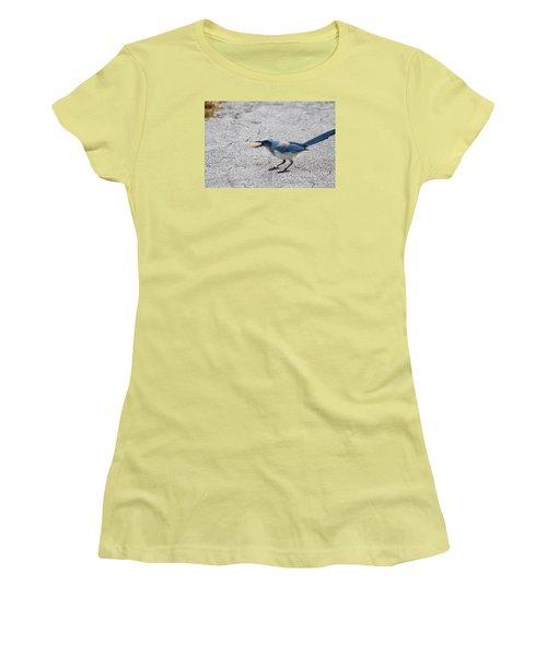 Florida Scrub Jay Women's T-Shirt (Athletic Fit)