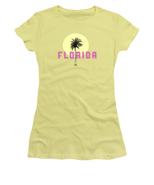 Women's T-Shirt (Junior Cut) featuring the photograph Florida Tee by Edward Fielding