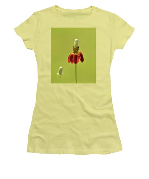 Flower  Women's T-Shirt (Junior Cut) by Nancy Landry