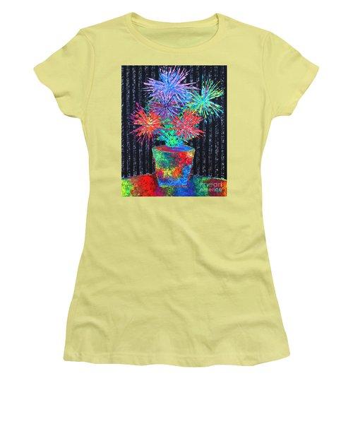 Flower-works Plant Women's T-Shirt (Athletic Fit)