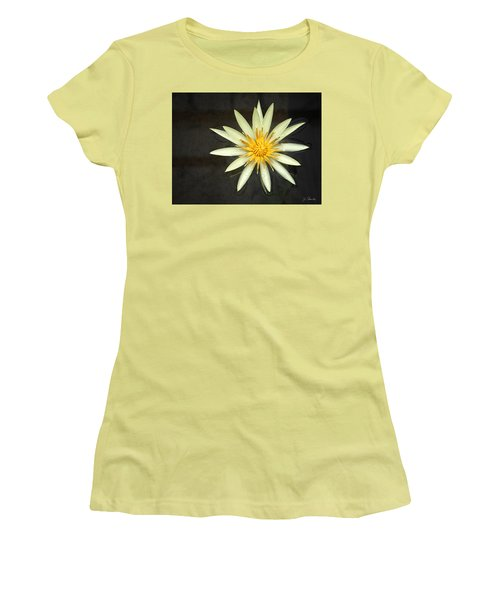 Flowerburst Women's T-Shirt (Junior Cut) by Joe Bonita