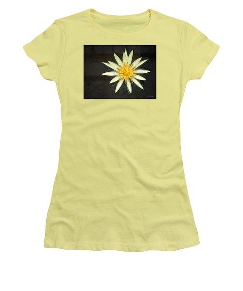 Flowerburst Women's T-Shirt (Athletic Fit)