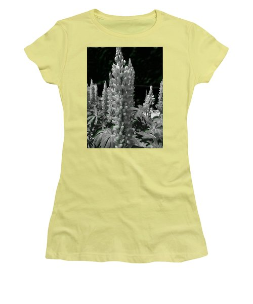 Flowering Green Aura Women's T-Shirt (Athletic Fit)