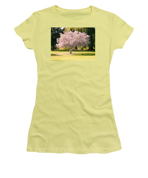 Flowering Tree Women's T-Shirt (Junior Cut) by Mark Barclay