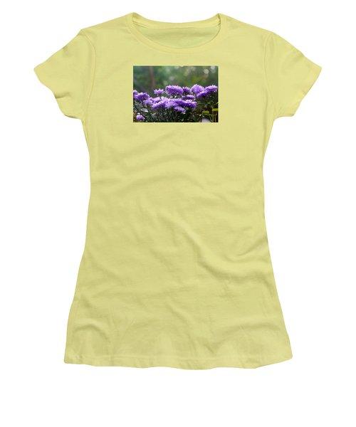 Women's T-Shirt (Junior Cut) featuring the photograph Flowers Edition by Bernd Hau