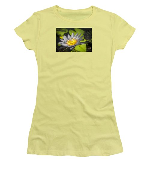 Flowers Of Grey Women's T-Shirt (Athletic Fit)