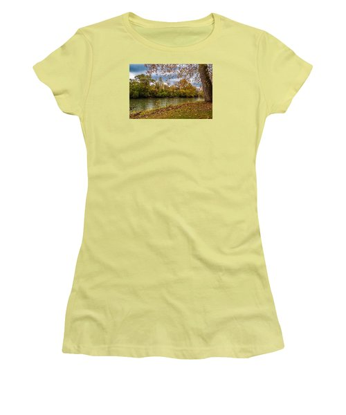 Flowing River Women's T-Shirt (Athletic Fit)
