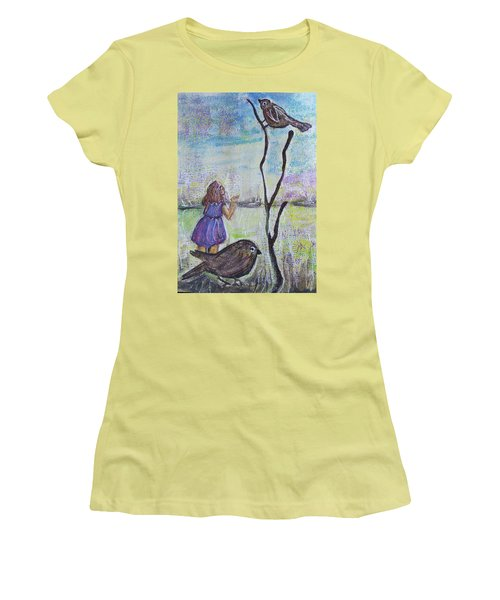 Fly, Fly Away Women's T-Shirt (Athletic Fit)